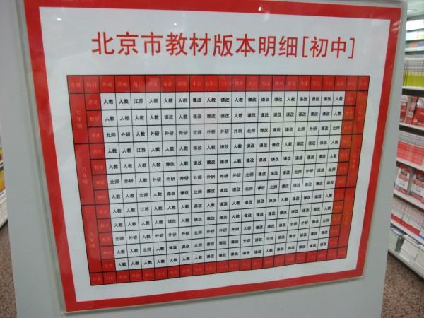 北京教材版本